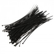 Хомут-стяжка 2,5х100мм пластик черный (100шт/упак) СИБРТЕХ