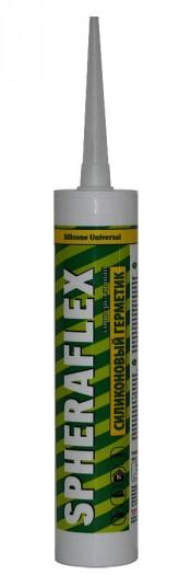 Герметик силиконовый SPHERAFLEX универсальный белый 300мл