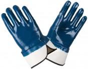 Перчатки МБС Нитрил синие краги